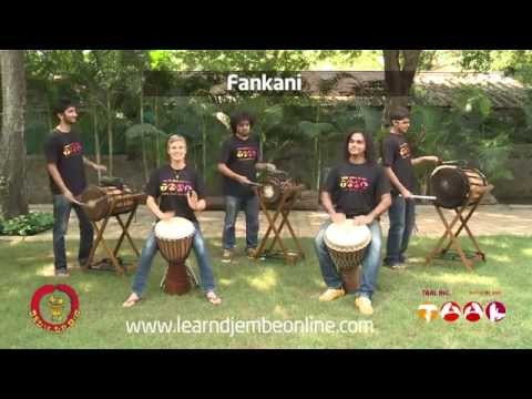Learn Djembe Online - Fankani sneak peek