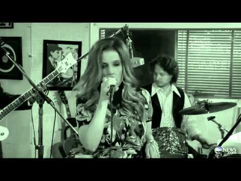 Lisa Marie Presley Performs in Elvis Studio - ABC News