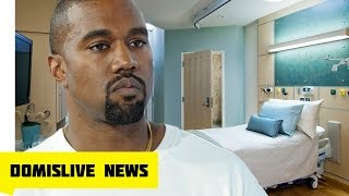 Kanye West Released from HOSPITAL with Kim Kardashian & Kids