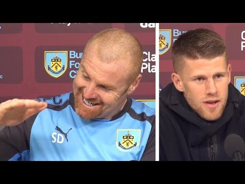 Sean Dyche & Johann Berg Gudmundsson Pre-Match Press Conference - West Ham v Burnley -Premier League