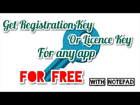 How to Get FREE Registration/Licence Key for any app
