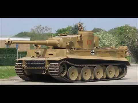 Papercraft Tank Tiger paper model/ Maquete em papel do tanque Tiger I.