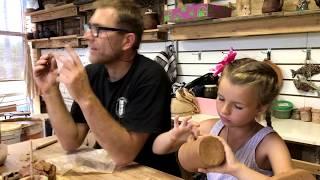 Как сделать глиняную кружку.