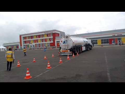 Конкурс водителей бензовозов Газпромнефть