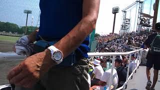 第100回高校野球三重大会決勝松坂商対白山2