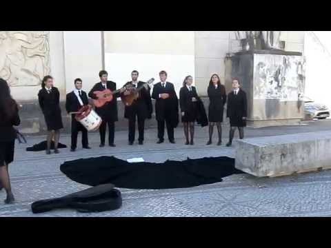 Coimbra University Students Performing for a fund raising