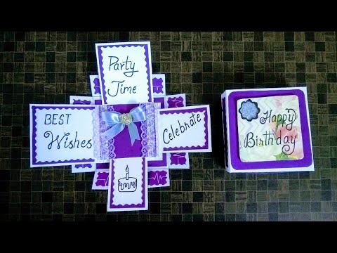 Latest Handmade Design  for Birthday Card I Birthday Greeting Card I Tutorial thumbnail