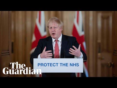 Coronavirus: Boris Johnson and housing secretary daily briefing on outbreak in UK – watch live
