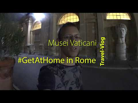 Travel Vlog: Vatican Museums at Night