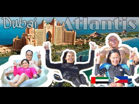 [4K] DUBAI ATLANTIS   DISCOVER DUBAI   Good vibes