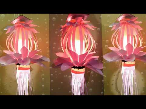 Amazing Paper Akashkandil for Diwali decoration ll DIY Paper craft