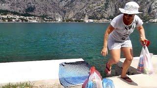 Еда в Черногории Котор цены(Цены на еду в Черногории в магазине, в гриль баре, на рынке. Обед и ужин на двоих за 20 евро., 2015-08-09T20:16:54.000Z)