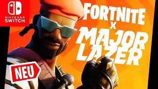 MAJOR LAZER Skin + Dances + Music COME to the Shop | Fortnite Switch