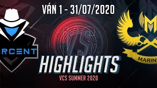 Highlights PER vs GAM [Ván 1][VCS 2020 Mùa Hè][31.07.2020]