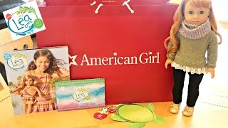 opening american girl doll lea clark haul from the agp new york