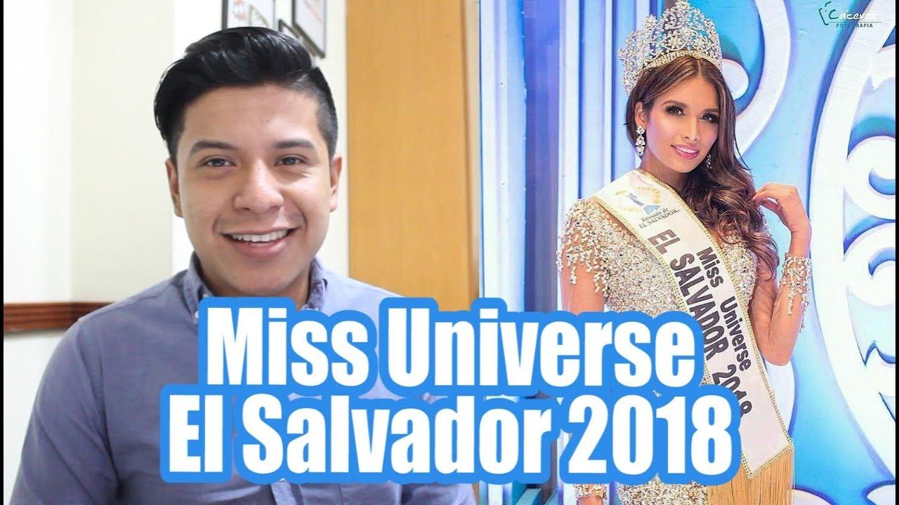 Marisela De Montecristo Miss Universe El Salvador 2018 Youtube