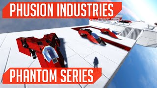 Phusion Industries (Ship Build): Phantom Series! (Space Engineers)