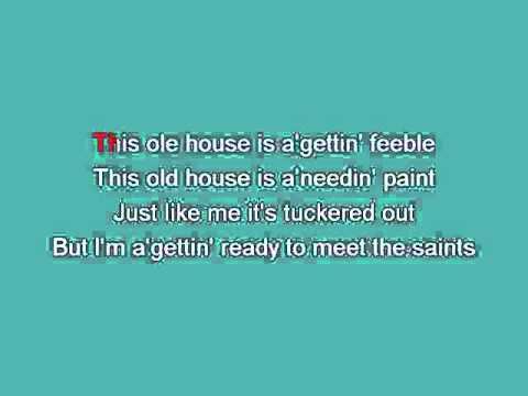 This Ole House [karaoke]