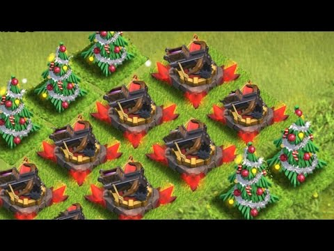 ALL THE GLITCHES IN CLASH OF CLANS NEW UPDATE! 2015