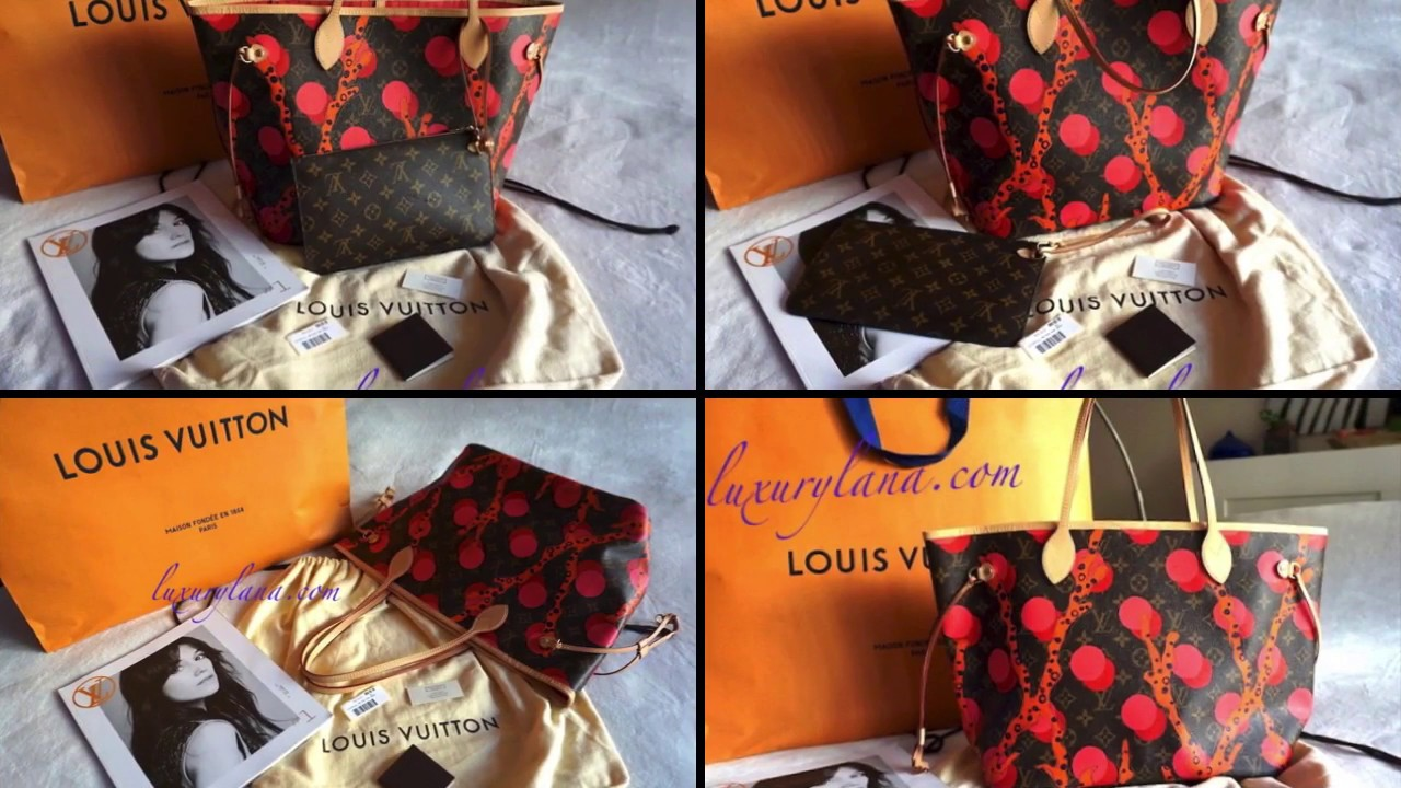 Louis Vuitton Ramages Neverfull MM Tote Handbag  NWT Pouch. Luxurylana  Boutique 8f2041979a71c