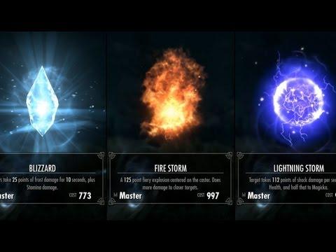 Skyrim - Master Destruction Spells
