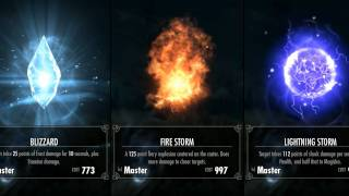 Skyrim - Master Destruction Spells