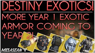 Destiny - More Year One Exotic Armor Coming to Year 2! New perk on ATS/8 Arachnid