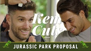 I'm A Celeb's Joel Dommett's Surprise 'Jurassic Park' Proposal! 🦖🦖 | Kem Cuts EXCLUSIVE