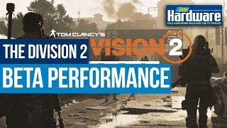 The Division 2 Private Beta   Benchmarks   RX 580 8GB + i7 4770K OC