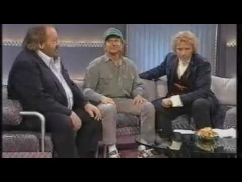 Bud Spencer and Terence Hill on german TV Show Wetten, dass..? 1995 part1