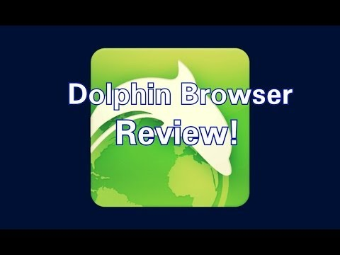 Best Browser For Android! Dolphin Browser Review