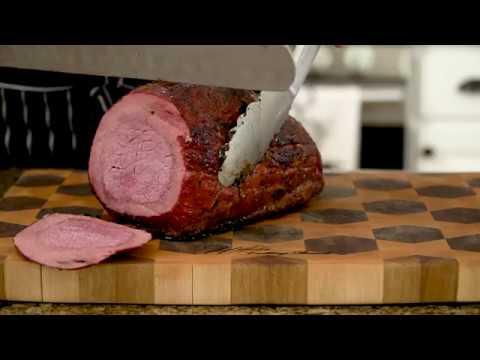 Deli Style Smoked Roast Beef (Smoked Eye of Round Roast)