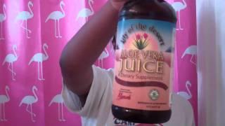 What The Spritz?(lilac/aloe Juice Spritz)