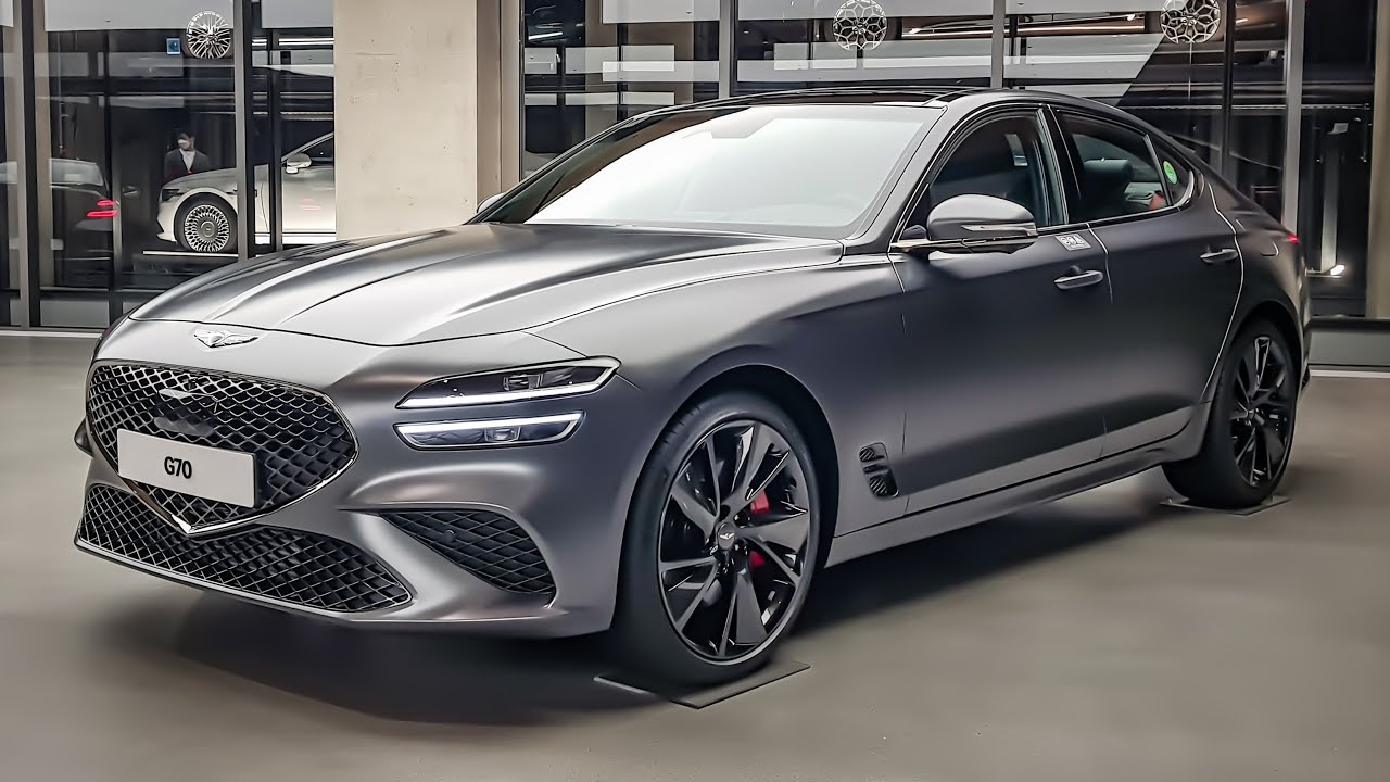 The New 2021 Genesis G70 FACELIFT Interior&Exterior First Look