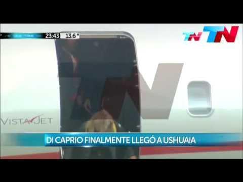 Mirá cómo fueron las primeras horas de Leo Di Caprio en Ushuaia