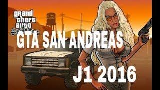 Como baixar e instalar GTA SAN ANDREAS para J1 2016 (200 MB)
