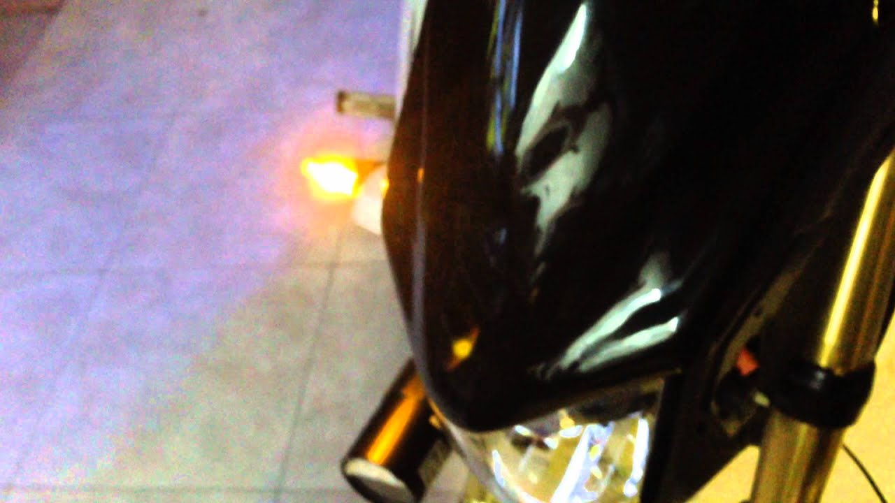 honda msx grom 125 front led blinkers 2 wire to 3 wire conversion running blinking  [ 1280 x 720 Pixel ]