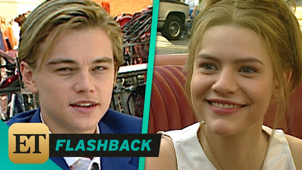 Watch Leonardo DiCaprio and Claire Danes Gush Over Each Other on the Set of 1996\u0027s \u0027Romeo + Julie\u2026 - YouTube