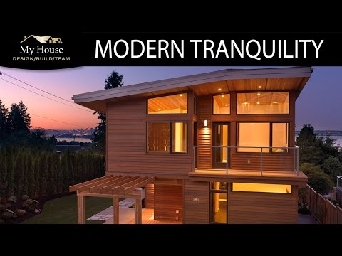 My House Feature Homes Modern Tranquility