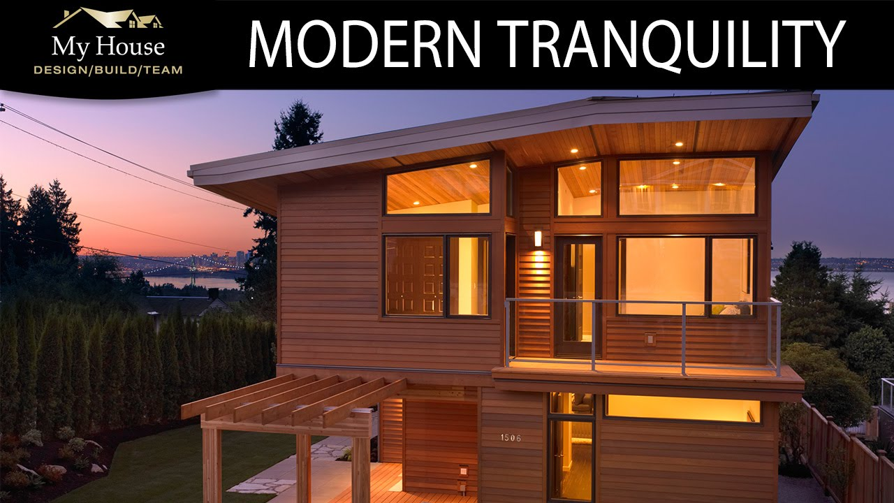 My house feature homes modern tranquility youtube for My home builders