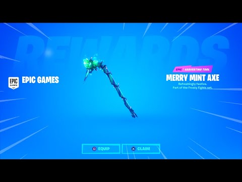 How To Get A Minty Pickaxe For Free *NO CODE REQUIRED*
