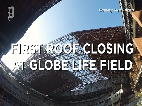 Jeff K - Retractable Roof At Globe Life Field Closes For First Time