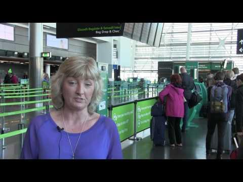 Self Bag Drop at Dublin Internation Airport