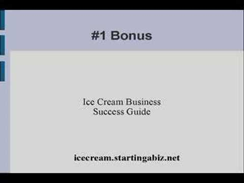 Ice cream parlor business plan