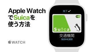 Apple Watch Series 4 — Apple WatchでSuicaを使う方法 — Apple