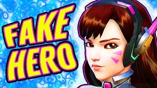 Is D.VA a FAKE HERO?! [Overwatch Theory]