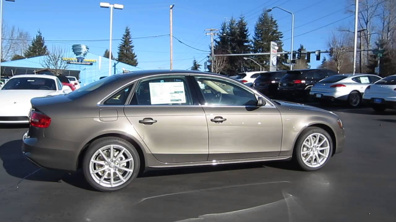 2014 Audi A4 Dakota Gray Metallic Stock 109759 Walk