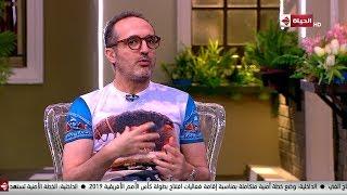بالفيديو- شريف مدكور يتحدث عن معاناته مع العلاج بالكيماوي