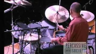 Jack DeJohnette - drum solo at PASIC 2009