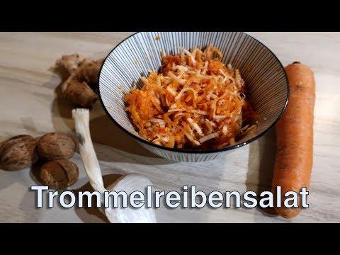 Vegan & Rohkost: Trommelreibensalat - Das esse ich jetzt jeden Tag!